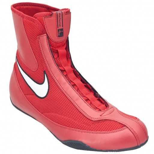 Boxing Shoes NIKE Machomai Mid red/white