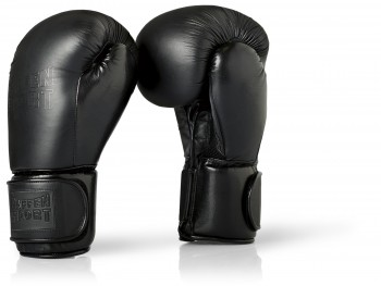 BLACK LOGO Boxing gloves for sparring