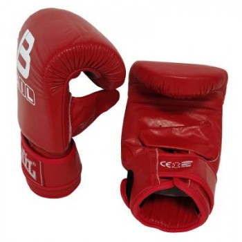 Punching bag gloves, leather